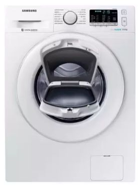 Samsung 8 kg Inverter with Ecobubble Fully Automatic Front Load with In-built Heater