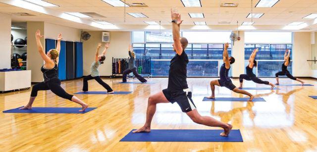 Enroll Him to Gym or a Yoga Class
