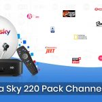 Tata Sky 220 Pack Channel List
