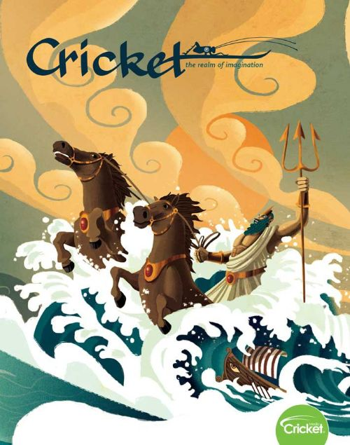Cricket kids magazine