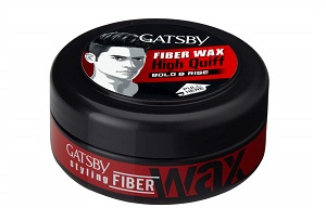 Gatsby Hair Styling Fibre Wax Bold and Rise