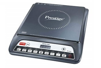 Prestige PIC 20 1200 Watt Induction Cooktop with Push Button