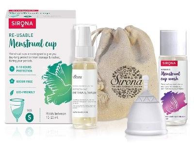 Sirona Pro Reusable Menstrual Cu