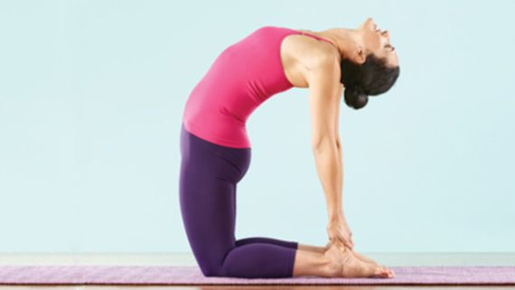 Uttanasana Forward Bending Camel Pose