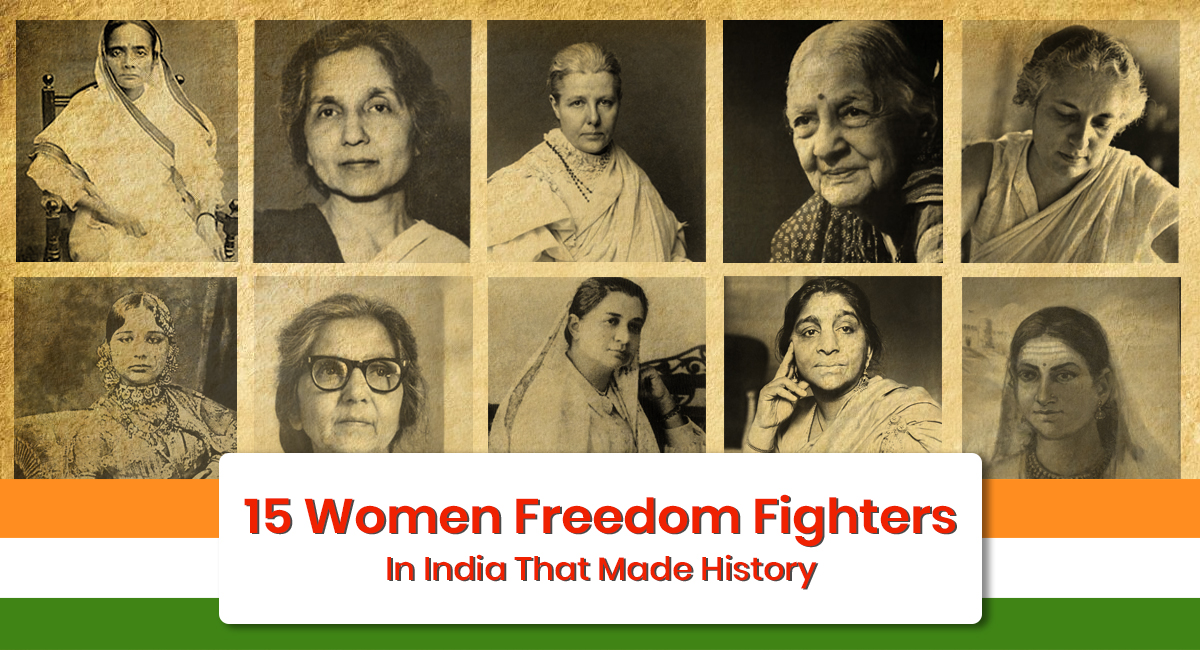 Women Freedom Fighters In India