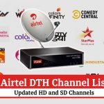 Airtel DTH Channel List 2021- Updated HD and SD Channel Numbers