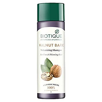 Biotique Bio Walnut Bark Volumizing Shampoo