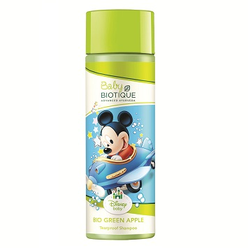 Biotique Disney Baby Bio Green Apple Tearproof Shampoo