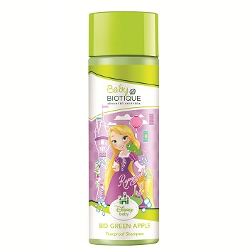 Biotique Disney Baby Rapunzel Bio Green Apple Tearproof Shampoo