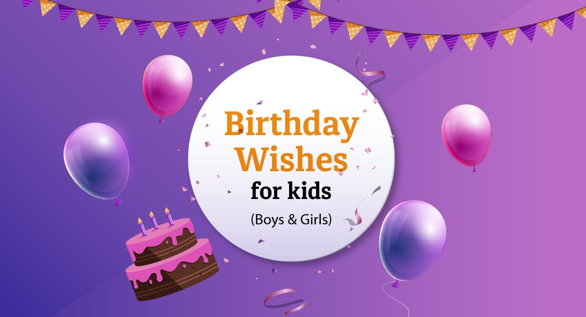 Birthday Wish for Kids