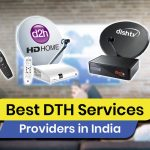 Top 8 DTH Service Providers in India(2021)