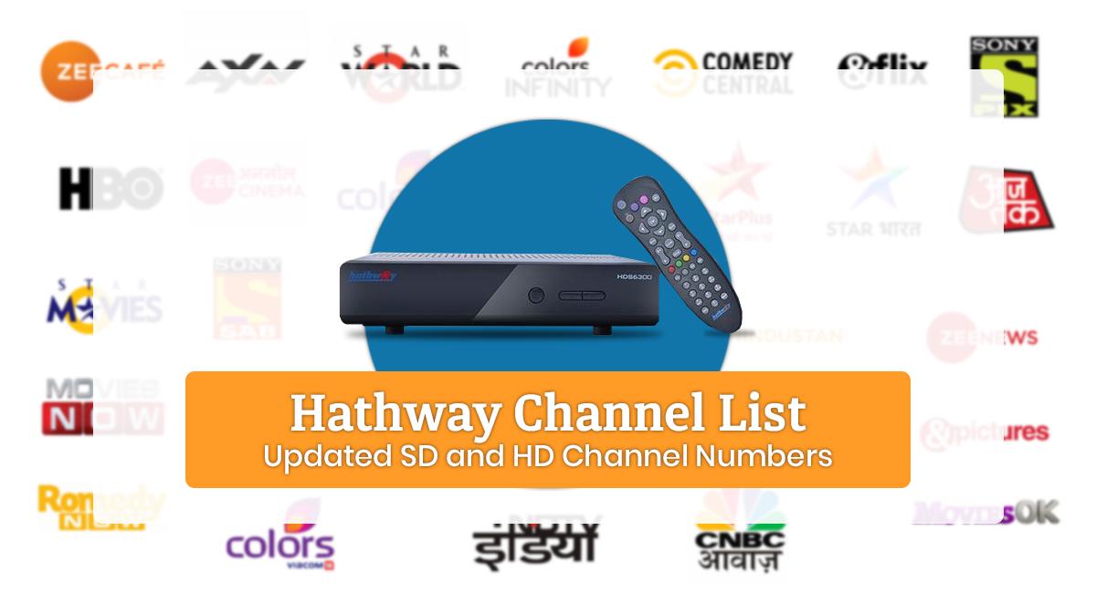 Hathway Channel List