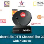 Jio DTH Channel List 2021- HD and SD Channels