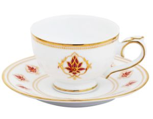Mughal Art Design Set of Cups and Saucers