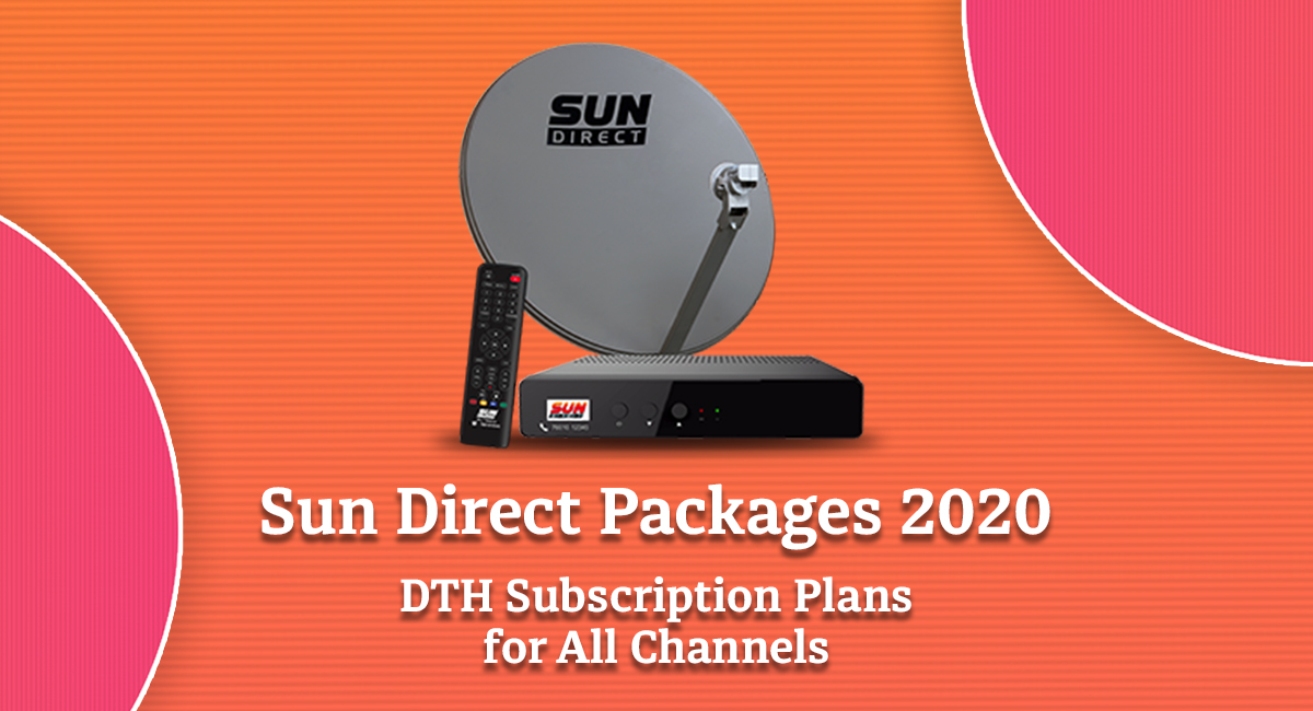 Sun Direct Packages