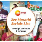 Zee Marathi Serials List 2020: Timings, Schedule & Synopsis
