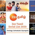 Zee Tamil Serial List 2021: Timings, Schedule & Synopsis