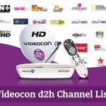 Videocon D2h Channel List 2020 – Updated HD and SD Channel Numbers