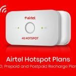 Airtel Hotspot Plans: 4G Prepaid and Postpaid Recharge Plans (2020)