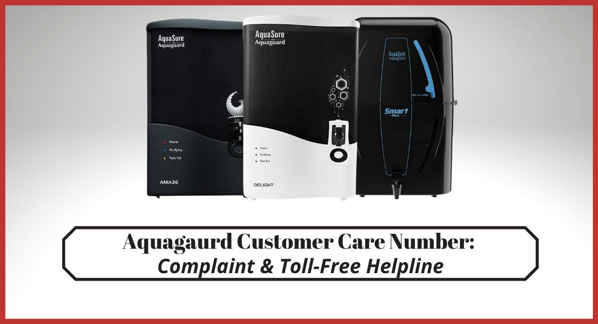 Aquagaurd Customer Care Number