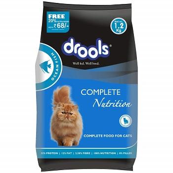 Drools Adult Dry Cat Food, Ocean Fish