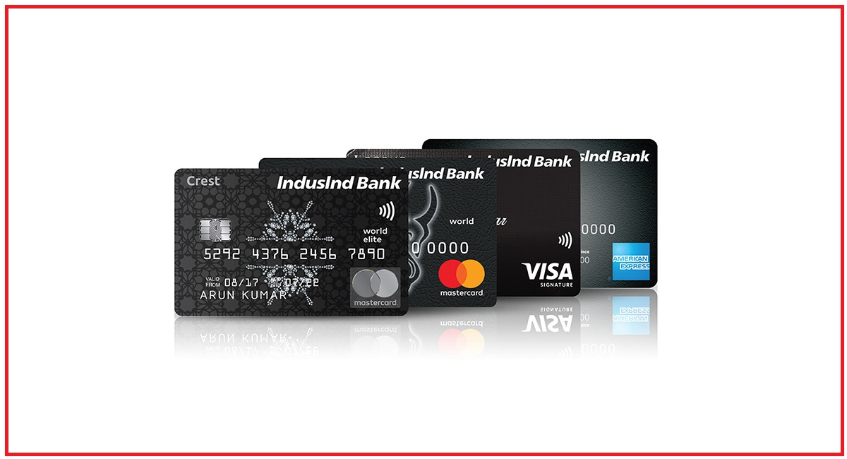 Track IndusInd bank Credit Card Status