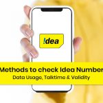 Check Idea Number, Data Usage, Talktime & Validity
