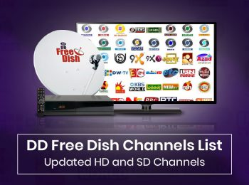 DD Free Dish Channels List