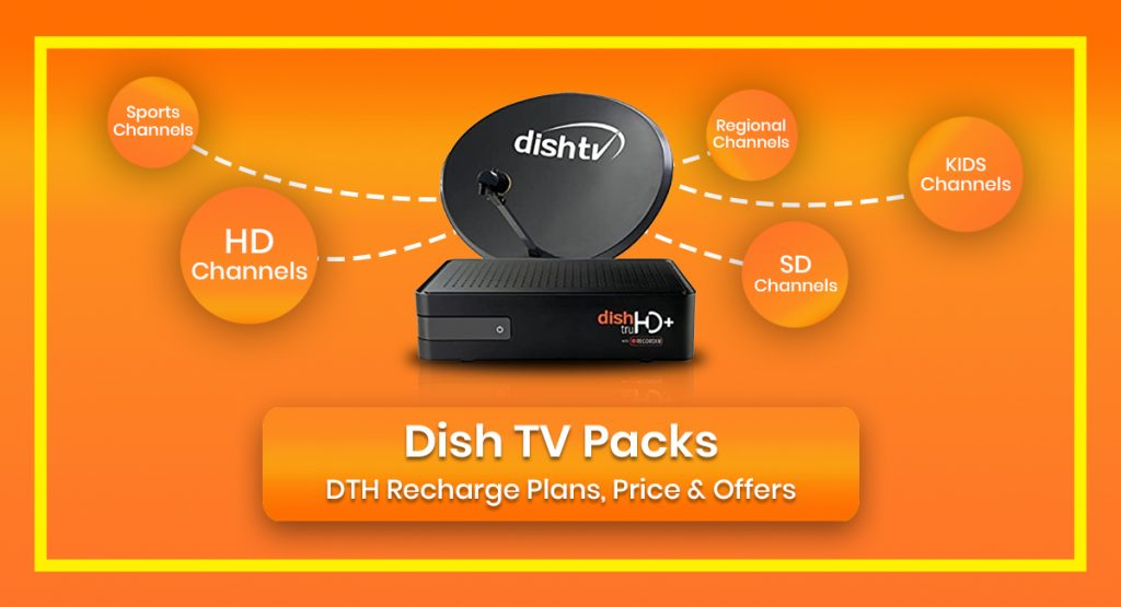 Dish Tv Packs Dth Recharge Plans Price Offers 2021