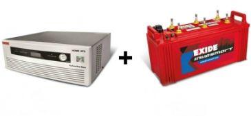 Exide 850 VA Home UPS with 150 Ah Battery