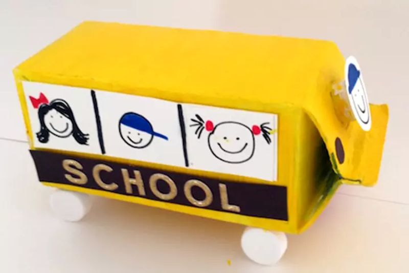 Milk Carton Bus