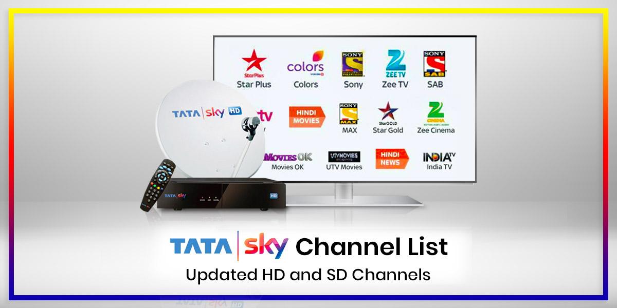Tata Sky Channel List