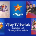 Vijay TV Serials Today: Updated List, Timings & Schedule(2020)