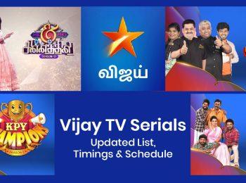 Vijay TV Serials