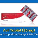 Avil Tablet (25mg): Uses, Composition, Dosage & Side Effects