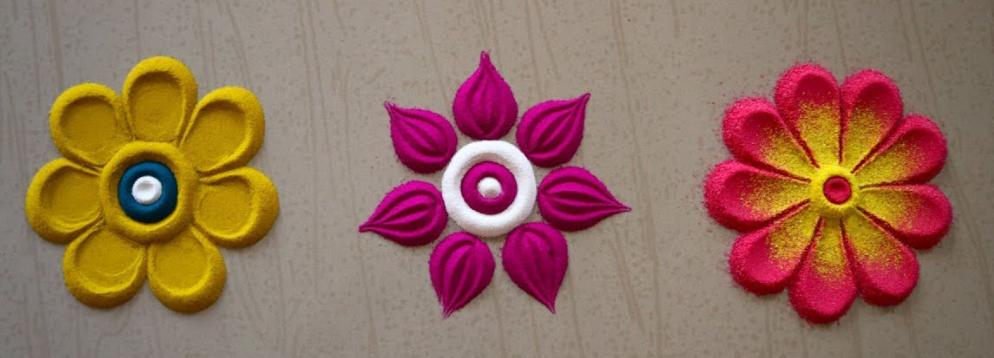 Cute Small Simple Rangoli Design