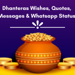 60+ Dhanteras Wishes, Quotes, Messages & Whatsapp Status