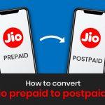 How to convert Jio Prepaid to Postpaid?