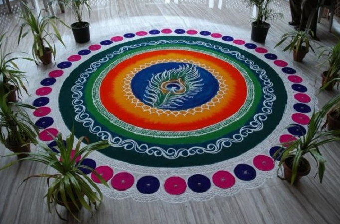 Large Area Designs for Rangoli Competition