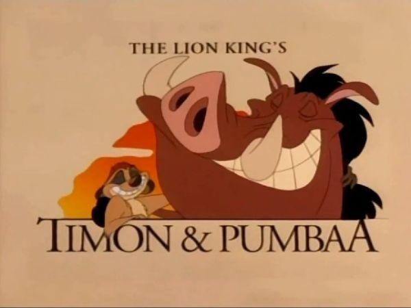 Timon & Pumbaa TV Series