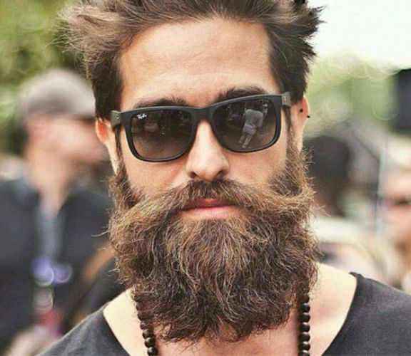 Urban Style Beard with Moustache