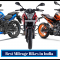 Best Mileage Bikes in India with Engine Capacity & Prices (2020)