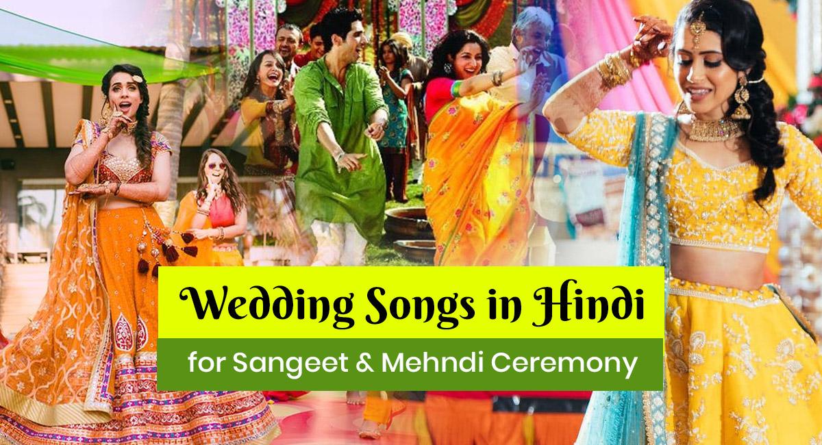 Wedding Songs in Hindi