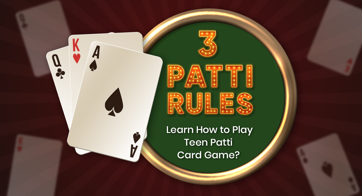 3 Patti Rules
