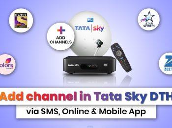 Add Channel in Tata Sky