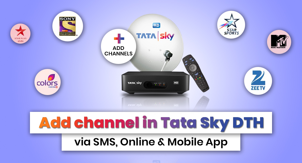 Add Channel in Tata Sky