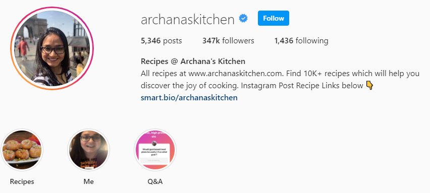Archana Doshi (Archana's Kitchen)