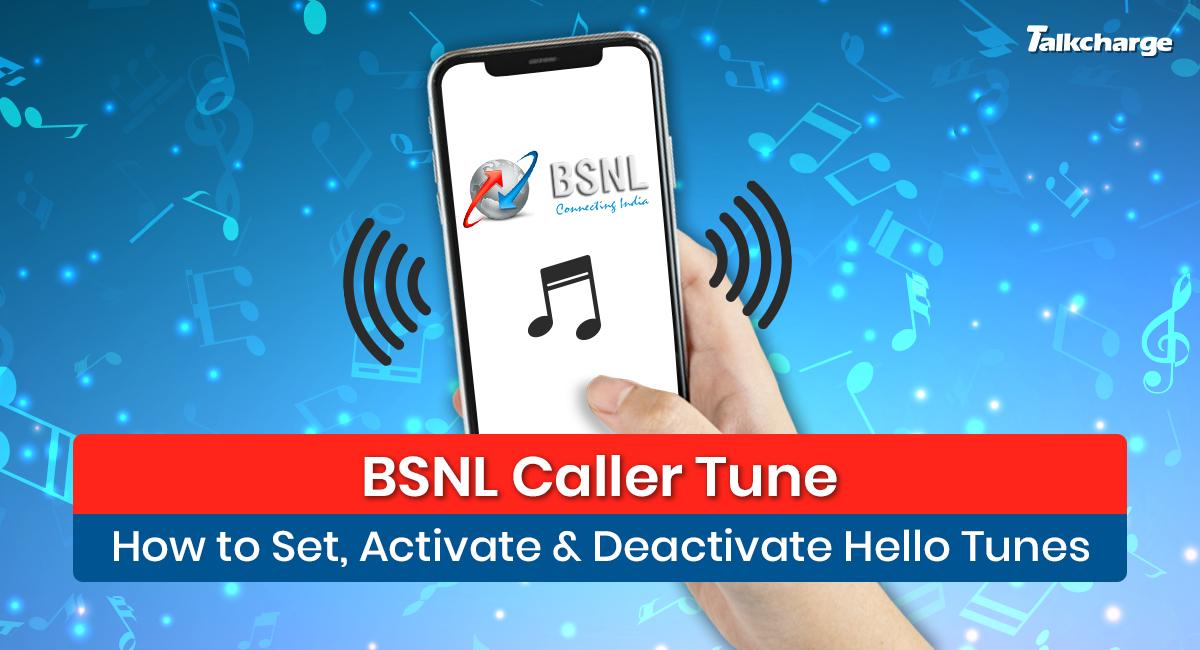 BSNL Caller Tune