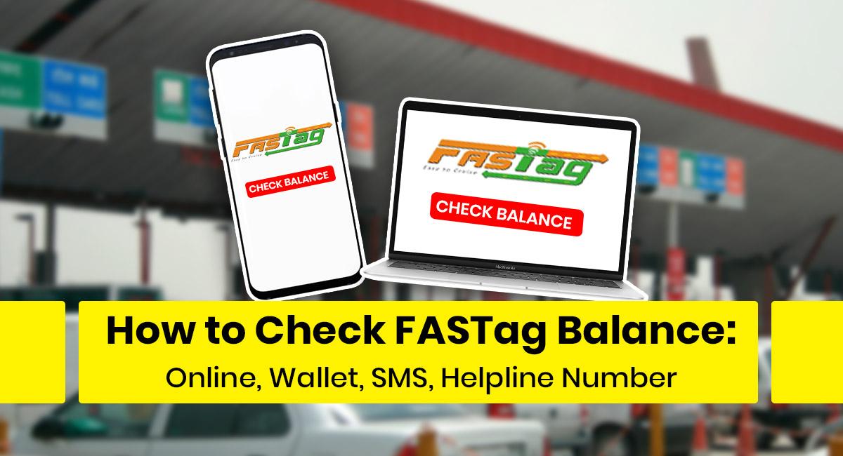 FASTag Balance Check