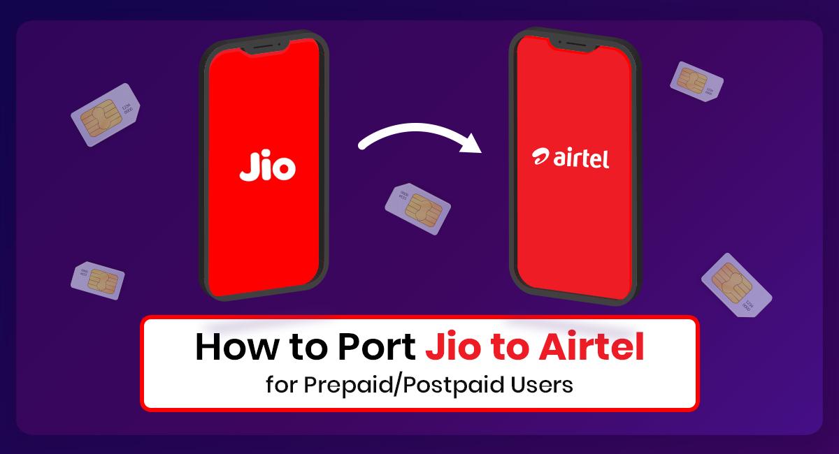 Port Jio to Airtel